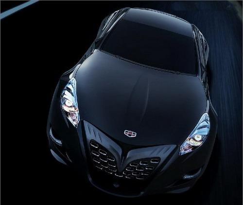 吉利发布了酷似变形金刚造型的美人豹ⅱ(mybo ⅱ)概念跑车.高清图片