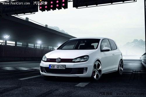 大众新高尔夫gti概念车外观   作为大众经典车型之一的高尔高清图片