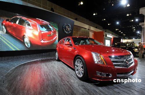 美国汽车去年12月份汽车销售量创1992年来新低高清图片