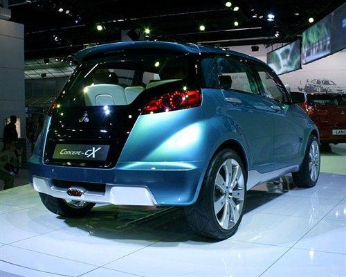 『将基于cX概念车研发』-有望引入国产 三菱全新紧凑型SUV将量产高清图片
